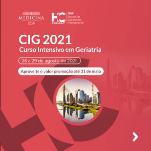 IX Curso Intensivo de Geriatria HCFMUSP - CIG 2021