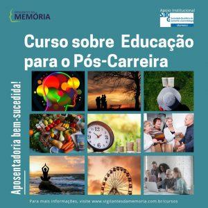 Curso sobre Educação para o Pós-Carreira